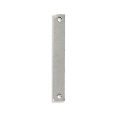 Connector, 25x3.5mm, rectangle, stainless steel, 304L