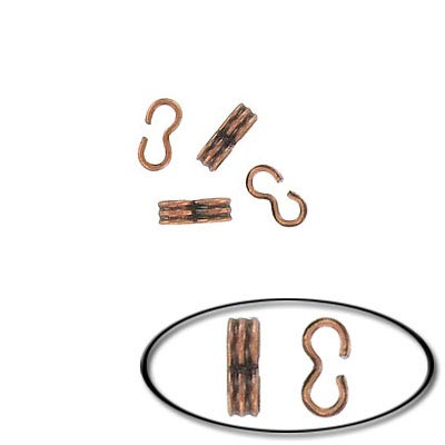 Crimp connector antique copper