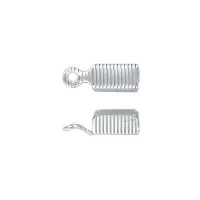 Crimp connector silver plate