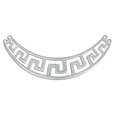 Connector, 99mm, antique silver