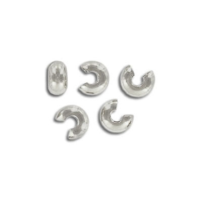 Crimp bead cover, nickel