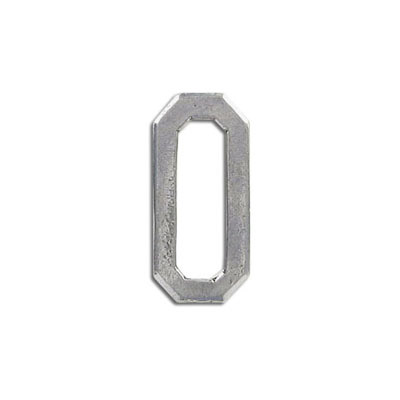 Connector, 29x13mm, pewter, lead free