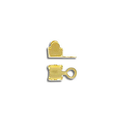 Round crimp end pp24 gold