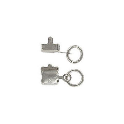 Connector for RHCH stone size pp32, rhodium imitation