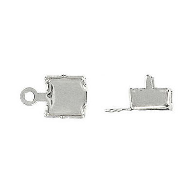 Crimp connector ss29 silver plate