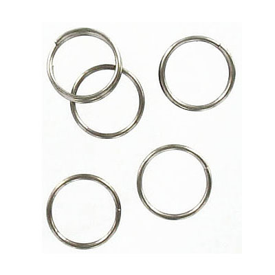 Split ring, 9mm, stainless steel, 316l grade