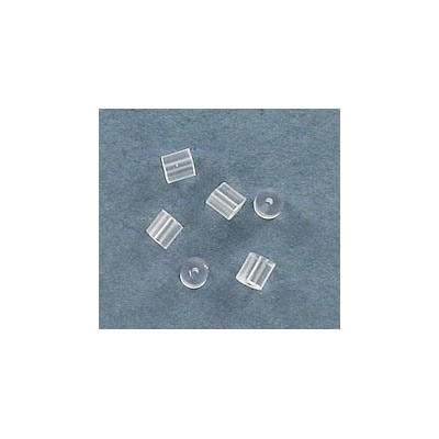 Earwire stopper, clear