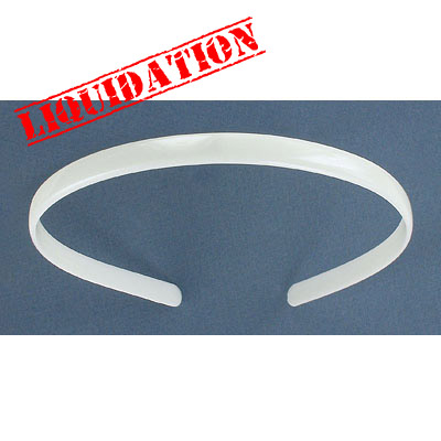 Plastic hair band, 10mm