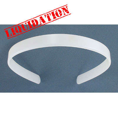 Plastic hair band, 13mm