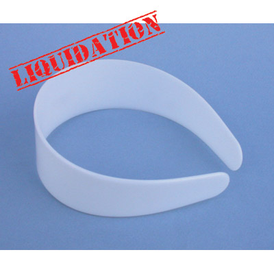 Blank plastic hairband