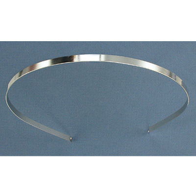 Steel hairband 5mm wide with holes
