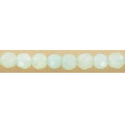 Semi-precious faceted beads, 4mm, amazonite, 16 inch strand
