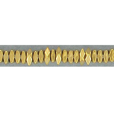 Semi-precious faceted beads, 4x4mm, square spacer, new pyrite, 16 inch strand