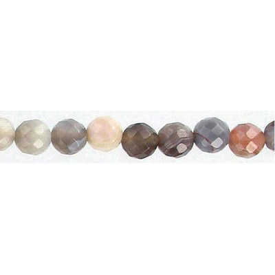 Semi-precious faceted beads, 16, botswana agate