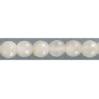 Semi-precious faceted beads, 6mm, genuine moonstone, 16 inch strand