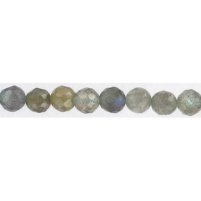 Semi-precious faceted beads, 16, labradorite