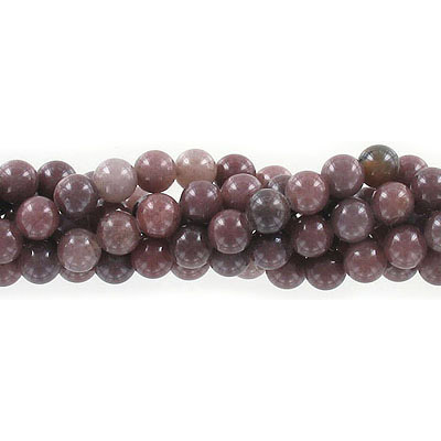 Semi-precious round beads, 6mm, Mexican agate, approx. hole size 1mm, 16 inch strand