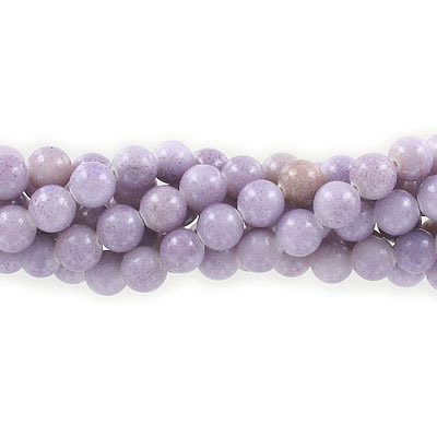 Semi-precious round beads, 8mm, pressed stone, purple, approx. hole size 1-1.20mm, 16 inch strand