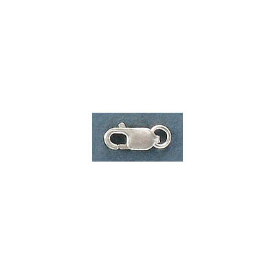 Sterling silver lobster clasp, 9mm, .925