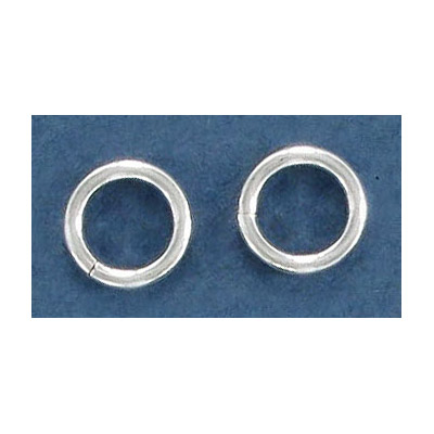 Sterling silver jumpring, 10x1.6mm