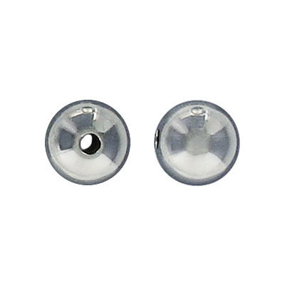 Sterling silver bead round 10mm .925