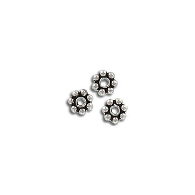 Bali bead 5mm sterling 925