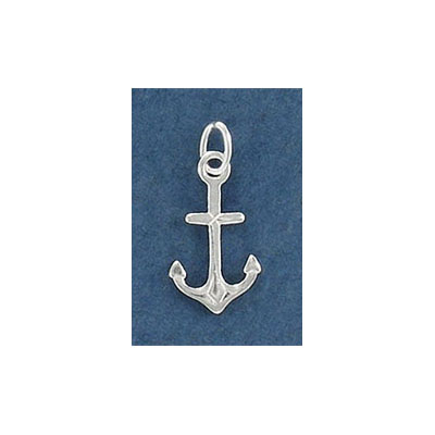 Sterling silver .925 pendant, 15mm, anchor charm