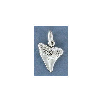 Sterling silver .925 pendant, 13mm, shark tooth charm