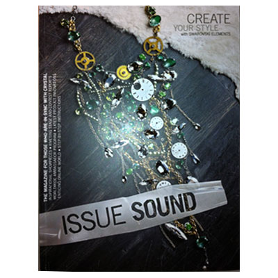 Swarovski magazine, cys issue sound