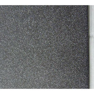 Frosted glass self adhesive paper, black