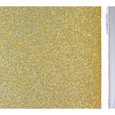 Frosted glass self adhesive paper, gold
