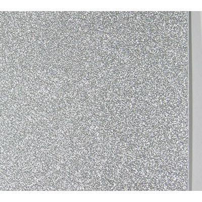 Frosted glass self adhesive paper, silver