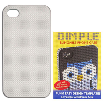Clear iphone 4/4s case for pp17 stones