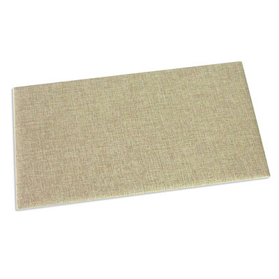 Buplap pad, 14x7.5 inch, linen