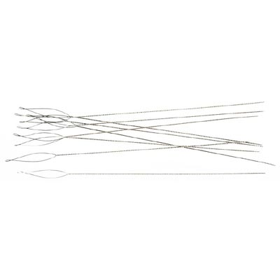 Needle with collapsible eye, 2.5 inch, fine, pack of 50 pieces