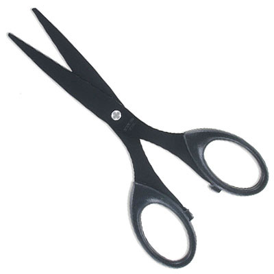 Scissors for leather, 6.5 inches, stainless steel