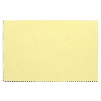 Sunshine cleaning and polishing cloth, 7.5x5 inch, to use with silver, brass, copper and glass