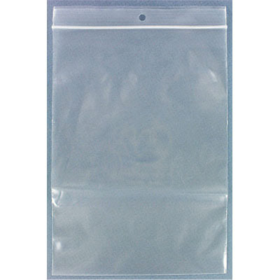 Resealable plastic bag. Clear. 14x20cm (5.5x8)