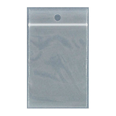 Resealable plastic bag. Clear. 5x7cm (2x2.75)