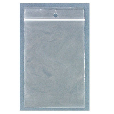 Resealable plastic bag. Clear. 8x12cm (3.5x4.75)