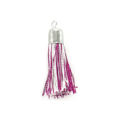 Tassel, 32mm, lavender mix