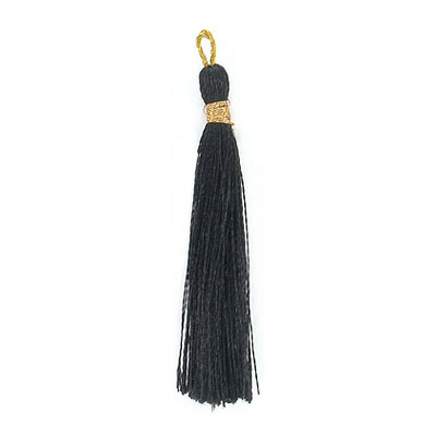 Tassel, 45mm, black