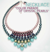 crystal Pearls Necklace